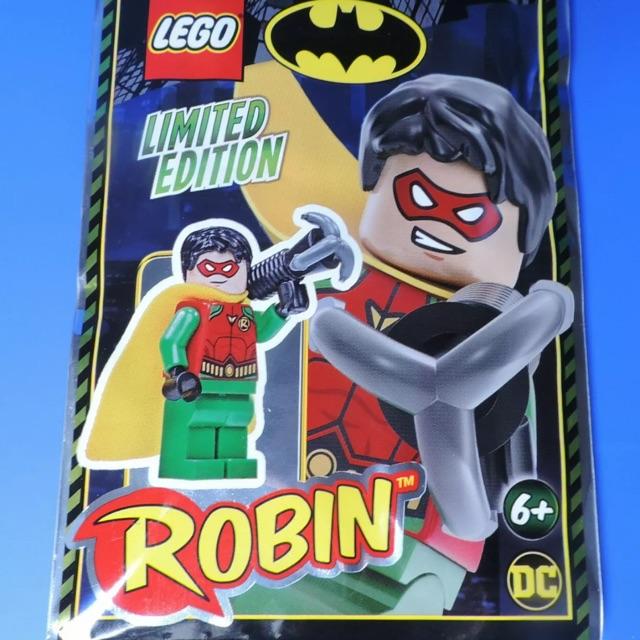 DC Foil Pack POLYBAG Limited Edition ORIGINAL LEGO THE BATMAN MOVIE