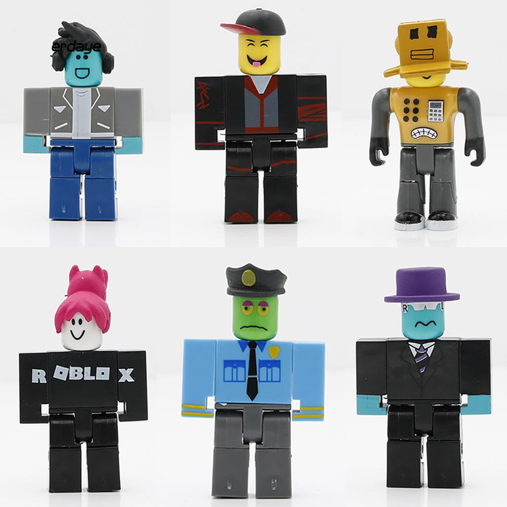 24pcs Roblox Legends Champions Classic Noob Captain Doll Action Figure Toy Gift - bunny tummy roblox