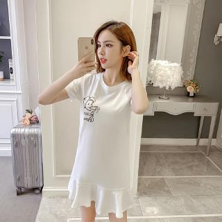 120cm Girls Loose Pants Round Neck a Two-Piece Suit Consists of Tops and Pant TH617 Black