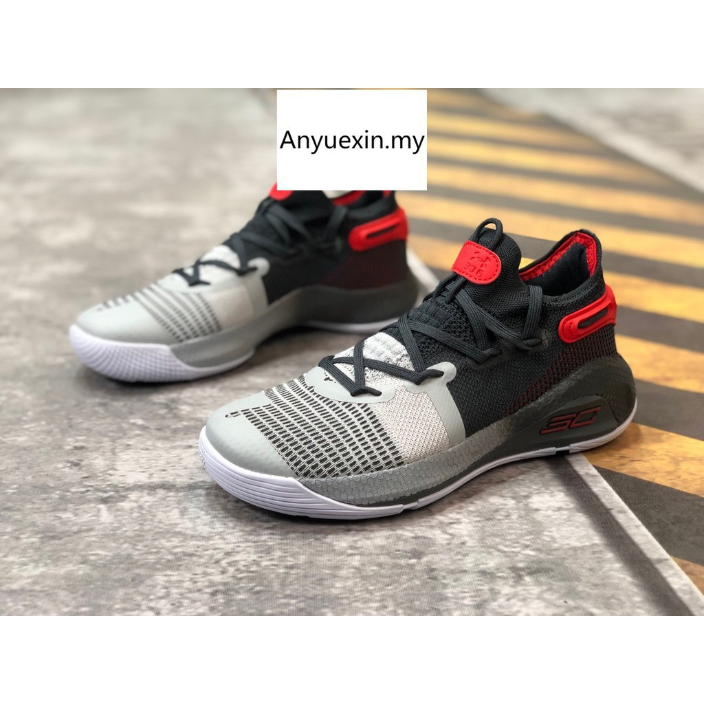 new product 81f67 c4623 Ready STOCK Original Under Armour Curry 6 Fox Theater men basketball Shoes  18013