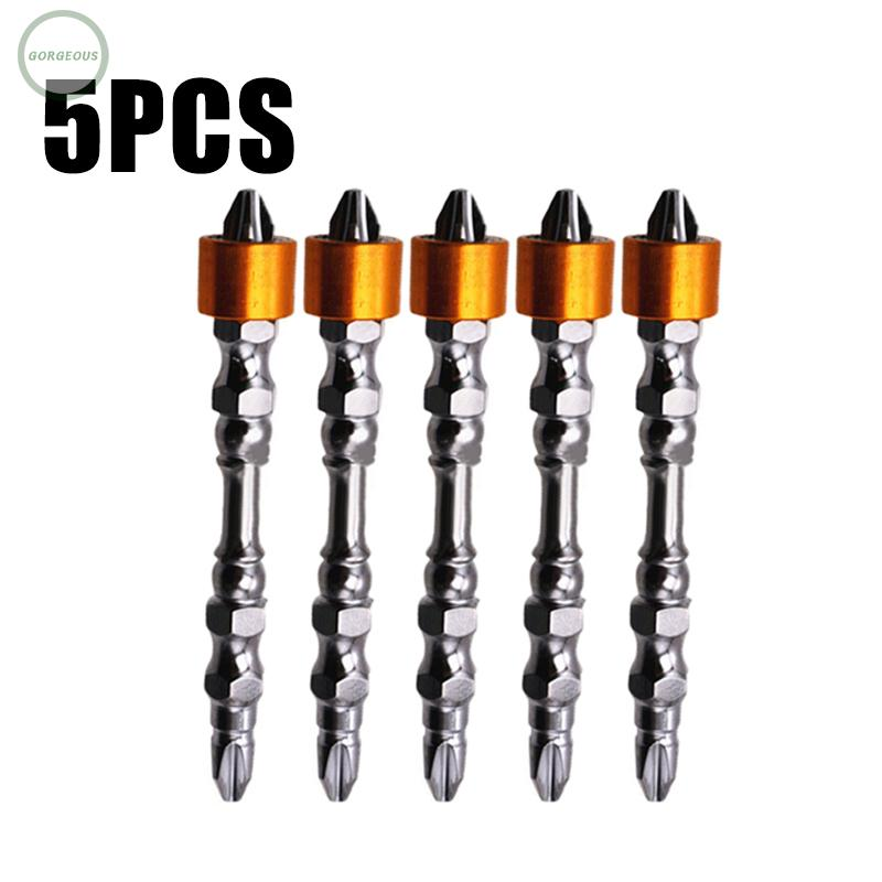Details about  /BROPPE 2pcs A Type Screwdriver Magnetic Ring For 6.35mm Shank Screwdriver Bits