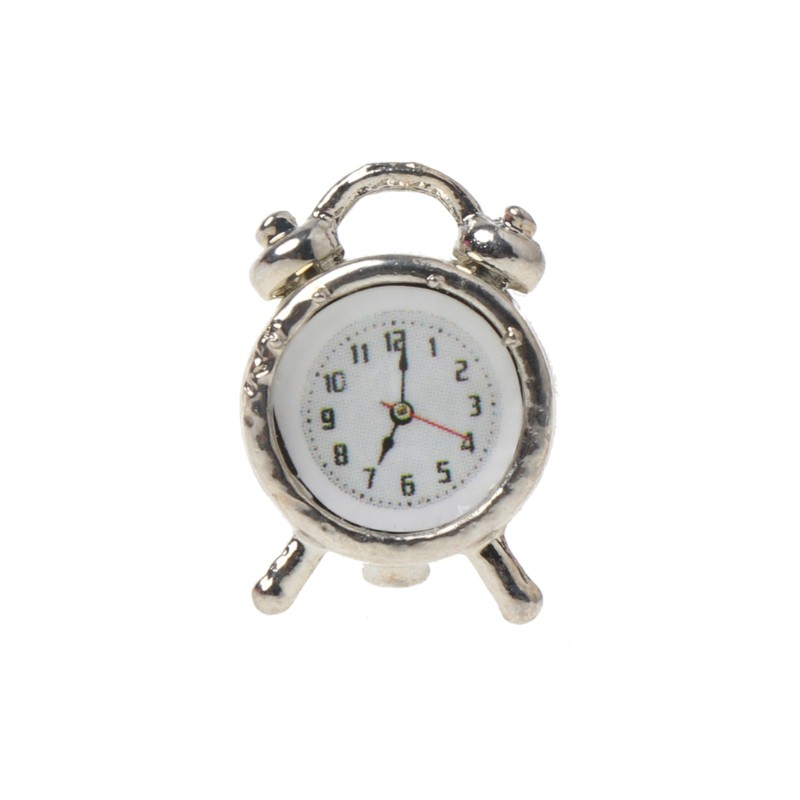 1//6 to 1//12 Scale Hot Vintage Alarm Clock For Action Figure Toys