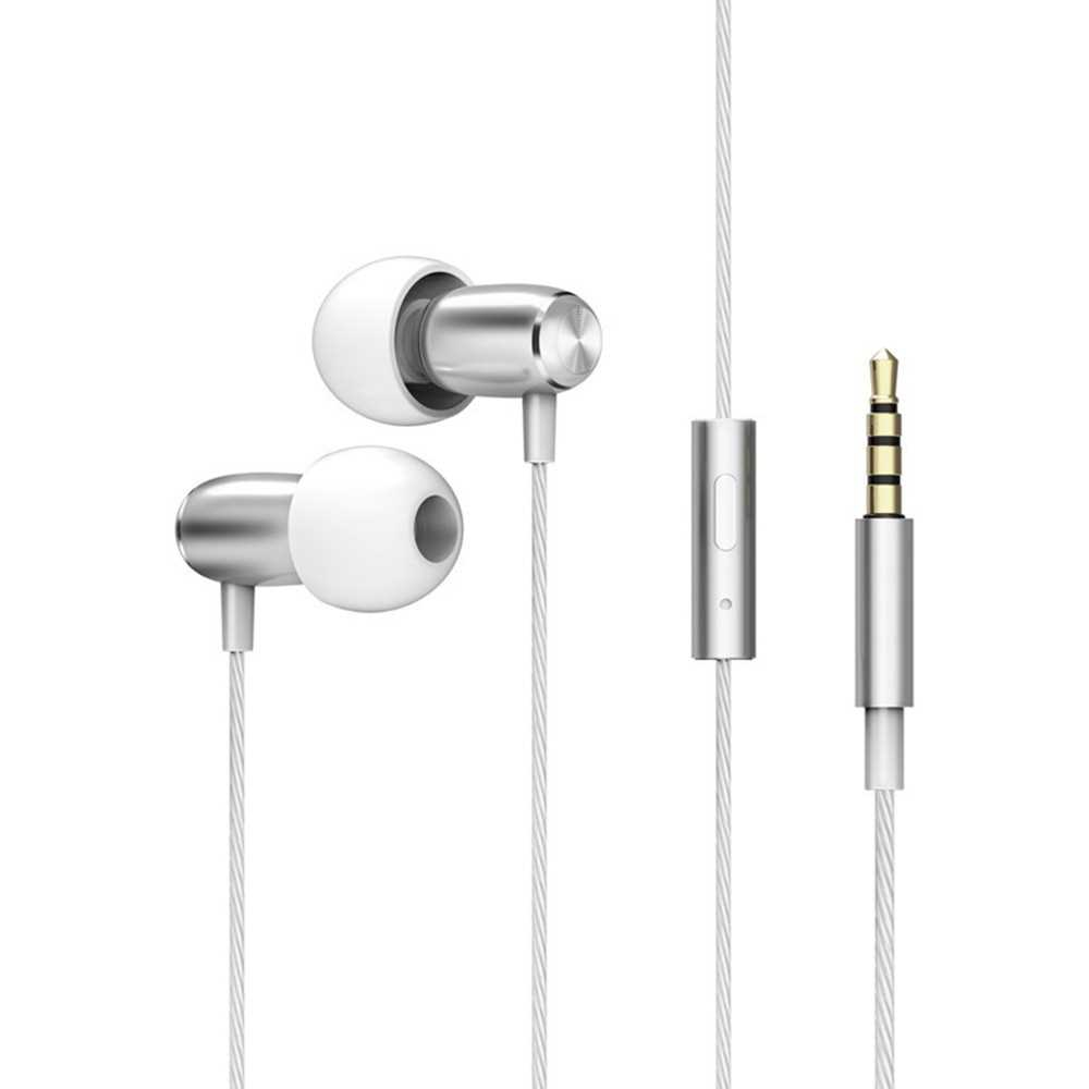Sleep Headphones In-ear Soft Silicone Earbuds 3.5mm Wired Earphones Noise-cancelling Headset In-line Control with Mic f