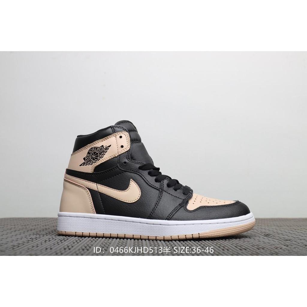 special sales unique design 100% quality Nike Air Jordan 1 Retro Og High-top men's and women's basketball  shoes-Khakai