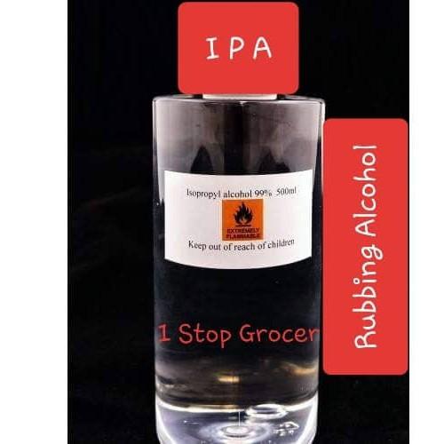 Isopropyl Alcohol IPA 99% / Rubbing Alcohol