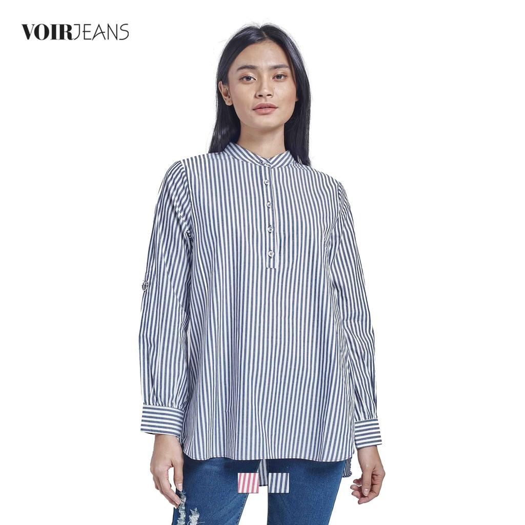 466158fa69b VOIR Ladies Casual Long Sleeve Dress Top VJ103337-A151901
