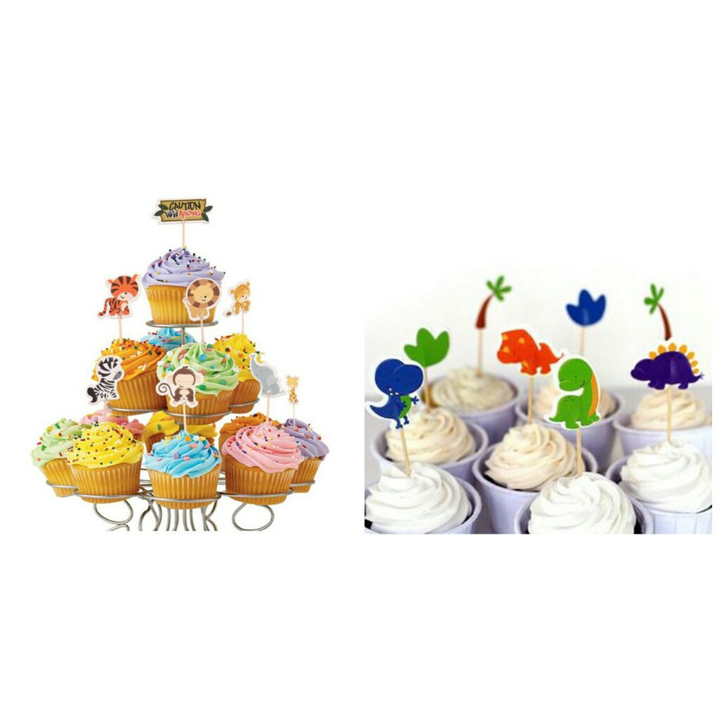 Enjoyable Ready Stock Happy Birthday Cupcake Topper For Kids Boys And Funny Birthday Cards Online Eattedamsfinfo