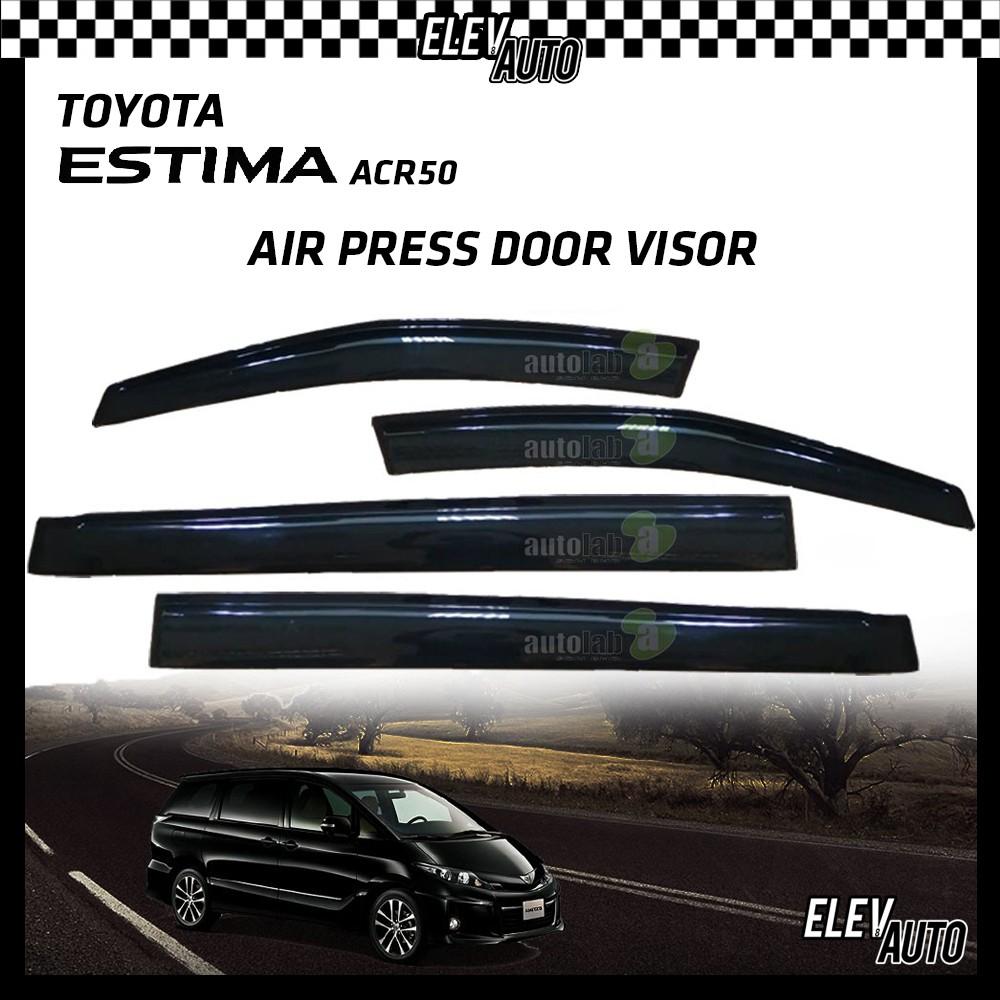 Toyota Estima ACR50 OEM Air Press Door Visor