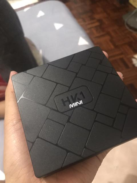 HK1 mini 2g16g Smart TV box tvbox Android 9 0   Shopee Malaysia