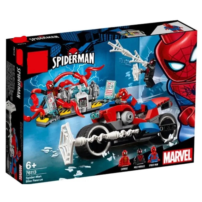 Customize Spiderman Mini Blocks Figure Collection Marvel Super Hero DIY Assemble