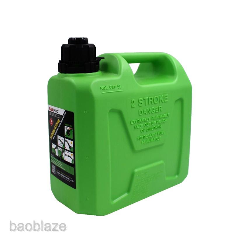 Plastic Gasoline Cans 1.3 Gallon 5 Litres Auto Shut Off Gas Tank Fuel Container