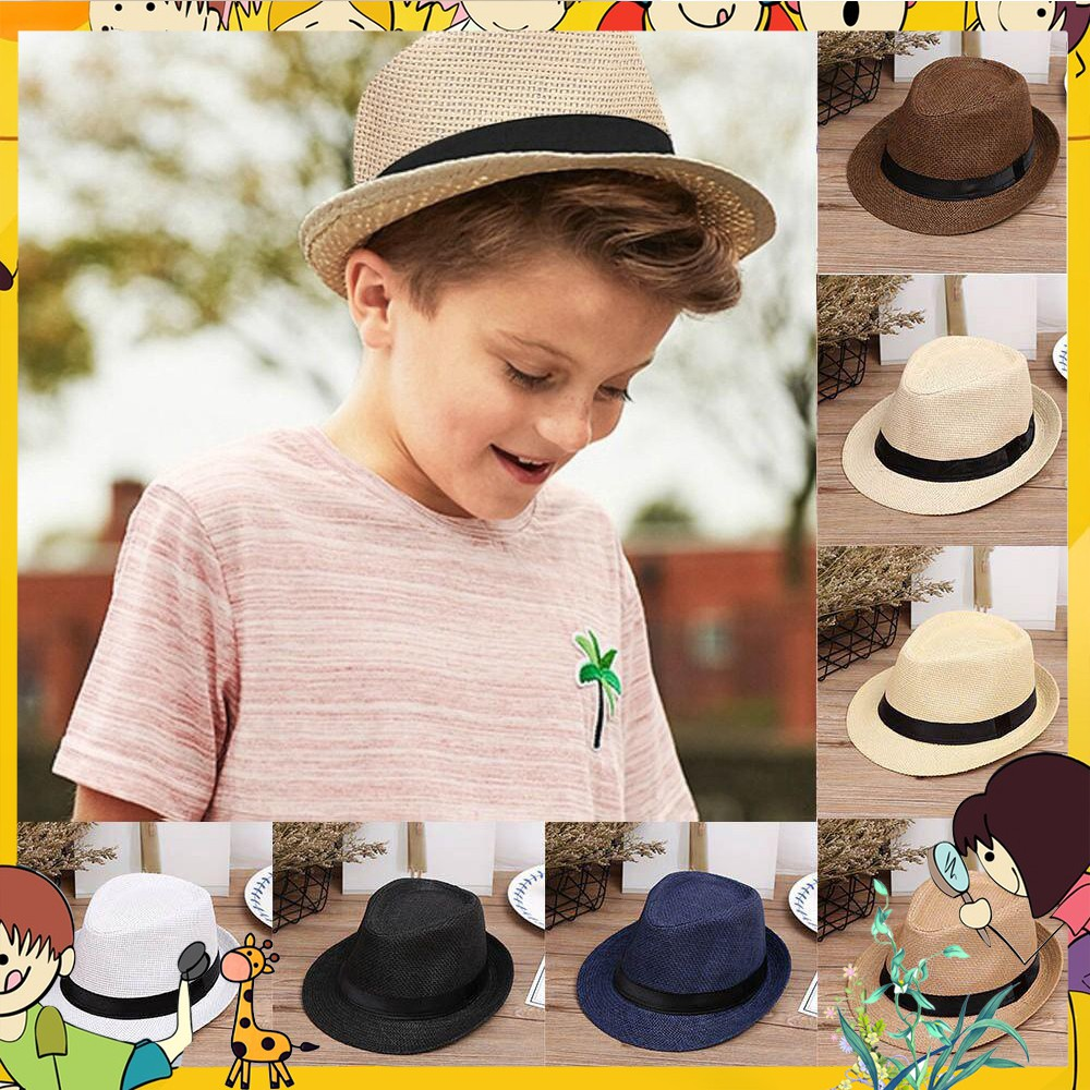 c9277a07 Children flower dome straw hat girls Beach Hats kids sun hat Ladies Beach  Cap   Shopee Malaysia