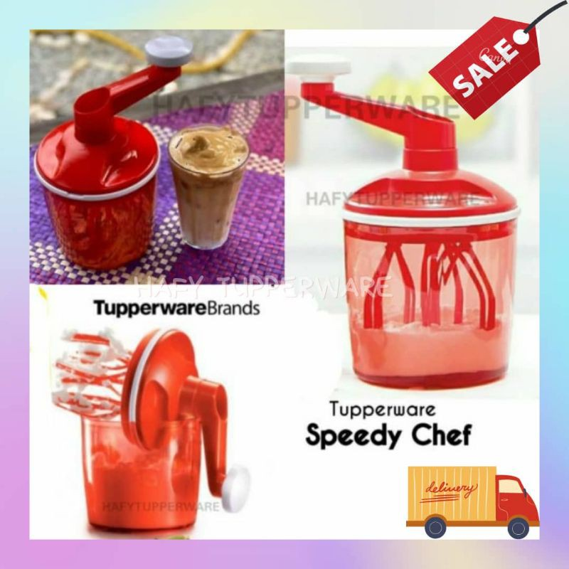 💥Clearance Stock💥Tupperware Speedy Chef Hand Mixer for Cakes and Food Preparation
