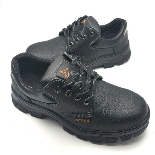 รองเท้าเซฟตี้ safety shoes หัวเหล็ก 8003 สีดำ