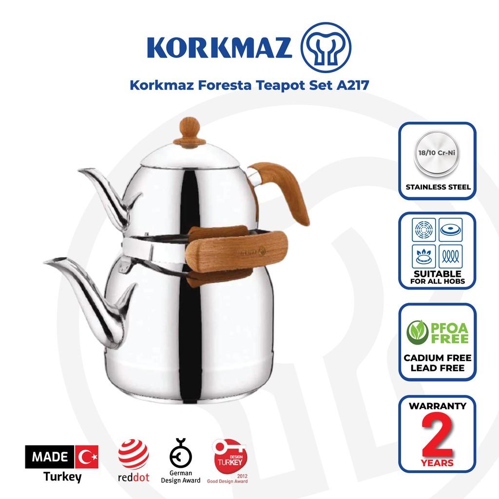 Korkmaz Foresta Teapot Set A217