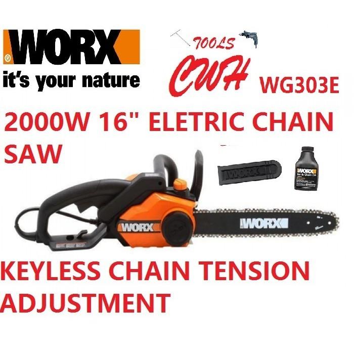 WORX WG303E 40CM CHAIN SAW 2000W