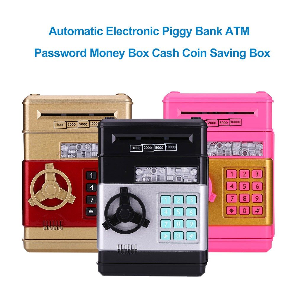 f89ef0fa8 ProductImage. ProductImage. Automatic Electronic Piggy Bank ATM Password  Money Box