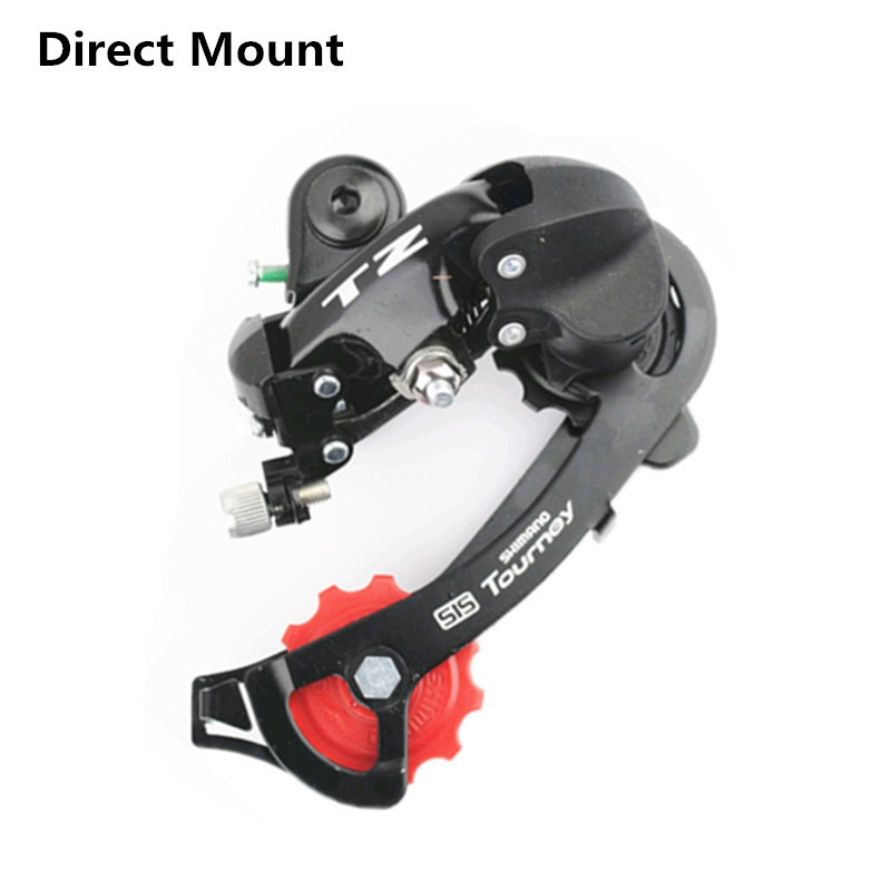 SHIMANO Bike SIS Tourney RD-TZ50 Bike Rear Derailleur 6//7-speed Hanger Mount