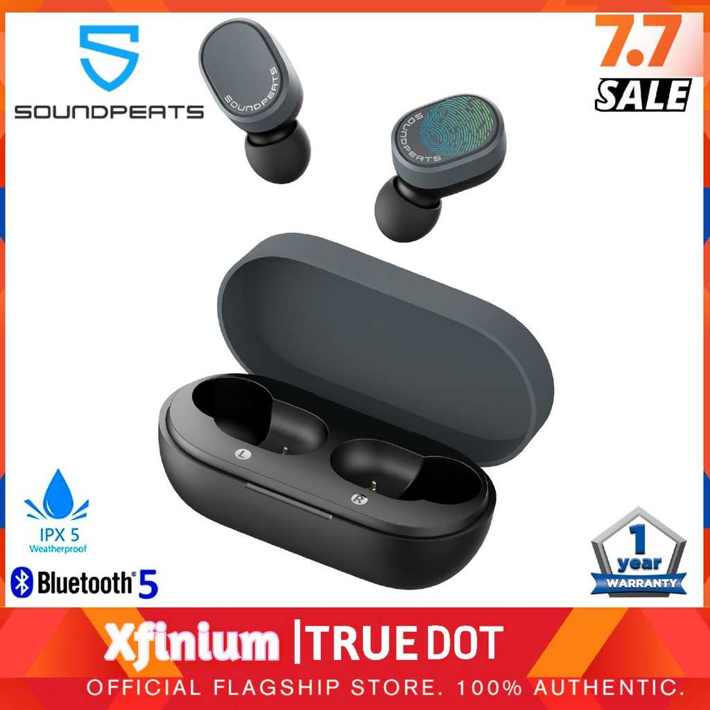 SoundPEATS TrueDot True Wireless Earbuds New Upgraded