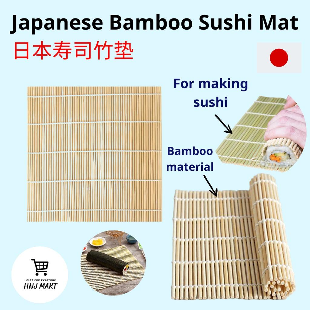 Japanese Bamboo Sushi Mat/Sushi Bamboo Mat/Sushi Rolling Tool/Sushi Roller/Sushi Mat/Sushi Rolling Mat 日本寿司竹垫