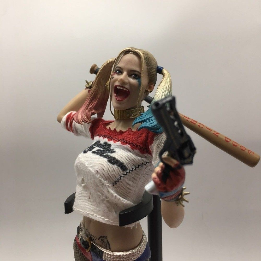 """12/"""" Suicide Squad Harley Quinn PVC Action Figure Collection PVC Model New In Box"""