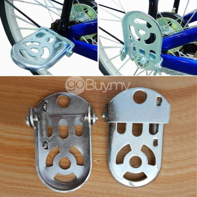 Foot Pedal Mountain Road Bike Steel Rear Folding Thicker