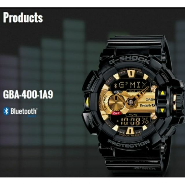 outlet store 927fb db684 G-SHOCK BLUETOOTH ORIGINAL (2YEARS WARRANTY)GMIX GBA-400 SERIES MEN SPORT