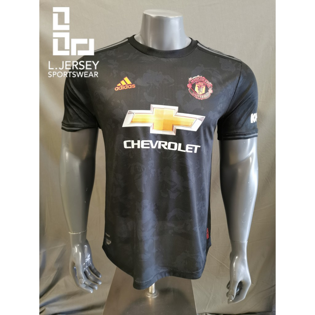 Manchester United Men 3rd Kit Season 19/20 CLIMACHILL Player Jersey