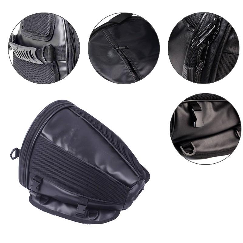 553653d23b03 Motorcycle Bike Sports Waterproof Back Seat Carry Bag Luggage Tail Bag  Saddlebag