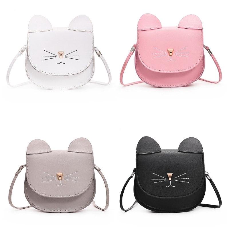 1f493f2de3e Cute Cat Messenger Small Handbags Purse Beg Mini Women Shoulder Bags Handbag