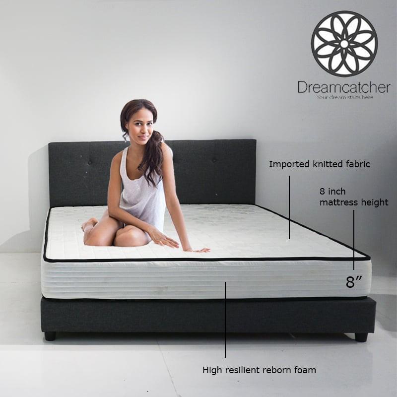 DREAMCATCHER 8″ single and queen size foam mattress rebond tilam queen -2 Year Warranty