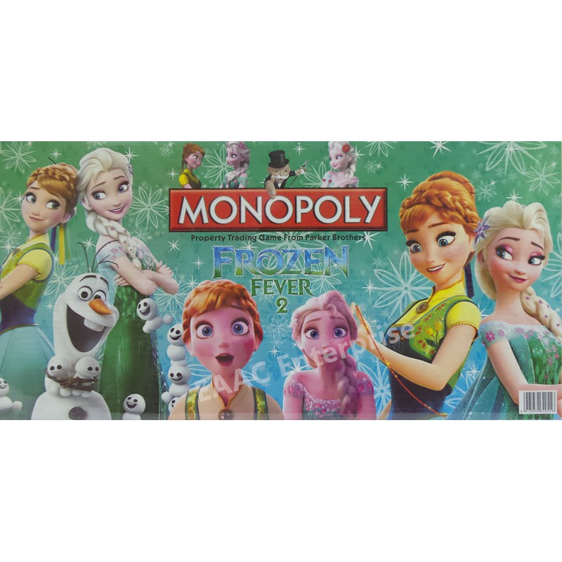 Frozen Monopoly Family Game Family Board Game