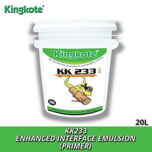 Waterproofing King Kote KK233 (300ML/2L/5L) Enhanced Interface Emulsion (Primer) / Multi-Purpose Waterproofing