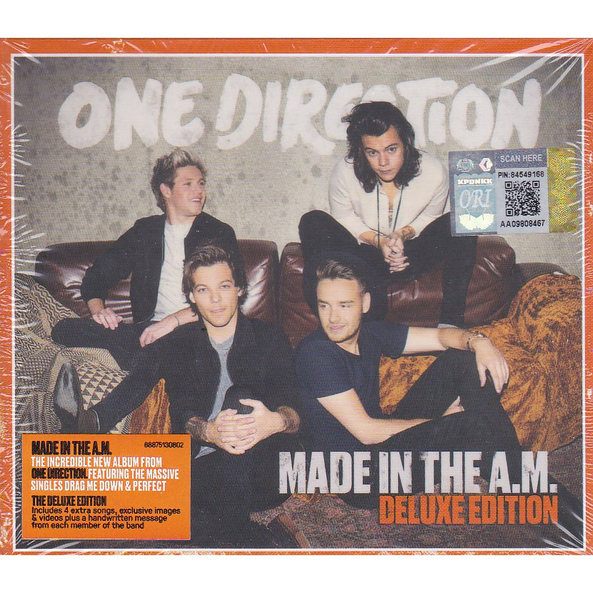 ONE DIRECTION - MADE IN THE A M CD ( DELUXE EDITION )