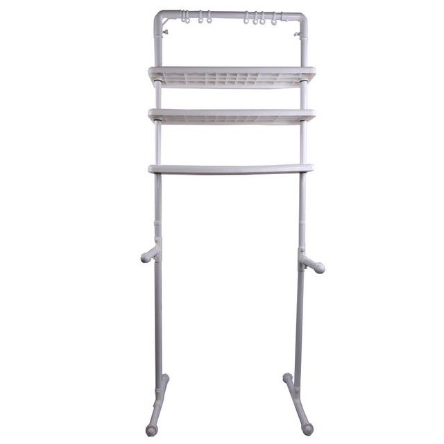 Multifunction Shelf Organizer (White)-HGN0030