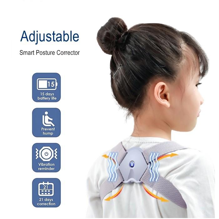Intelligent Posture Corrector Back Spine Support Spine Trainer Smart Posture Adjustable Corrector