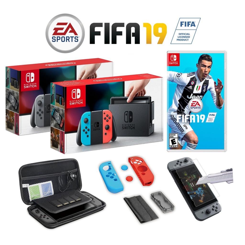 962ed8bef Nintendo Switch FIFA 19 Bundle Pack NEON/GREY (1 YEAR MAXSOFT MALAYSIA  WARRANTY)