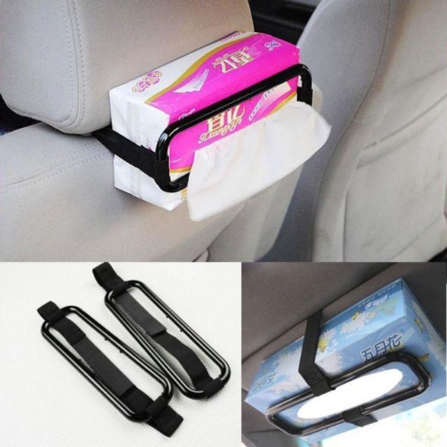 ???????? Tissue Box Holder Portable Car Accessories
