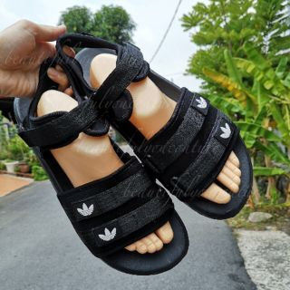 coupon codes popular brand retail prices ADIDAS ADILETTE ALL BLACK TRIPLE STRAP READY STOCK MALAYSIA ...