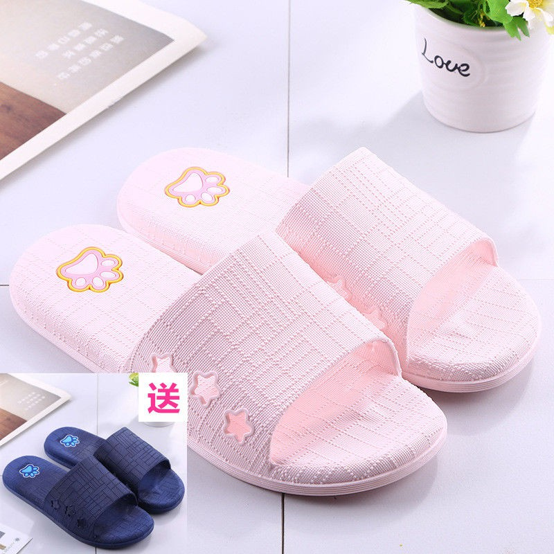 Lovers Slippers MenS Home Anti Slip Cotton Slippers Aemember Winter Slippers Warm Soles Winter In Women,Hint: The Size Is Small,Black Man
