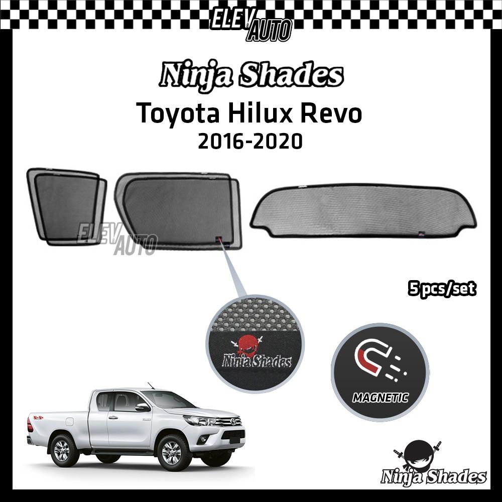 Toyota Hilux Revo Rogue Rocco 2016-2021 Ninja Shades OEM Magnetic Sunshade