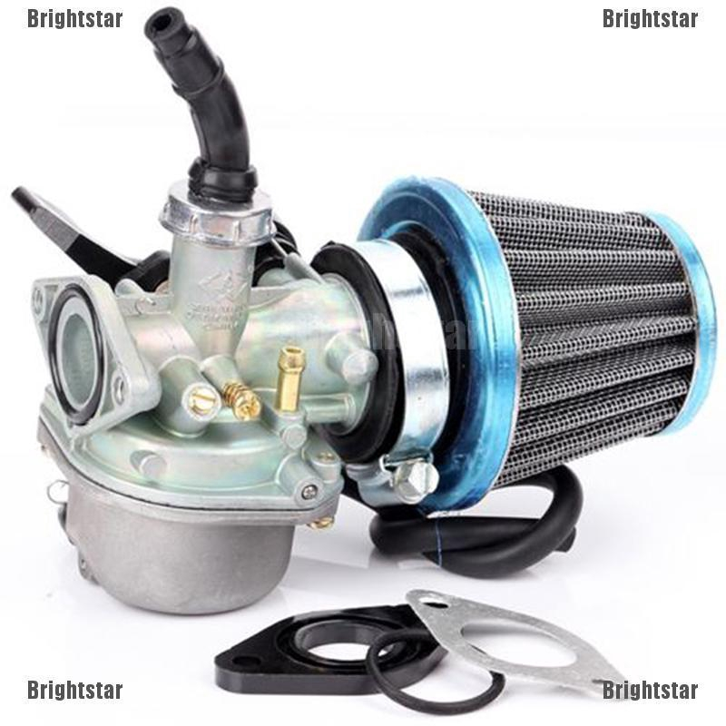 PZ19 Carburetor Air Filter Intake 49cc 50cc 70cc BAJA DR50 Dirt Runner Pit Bike