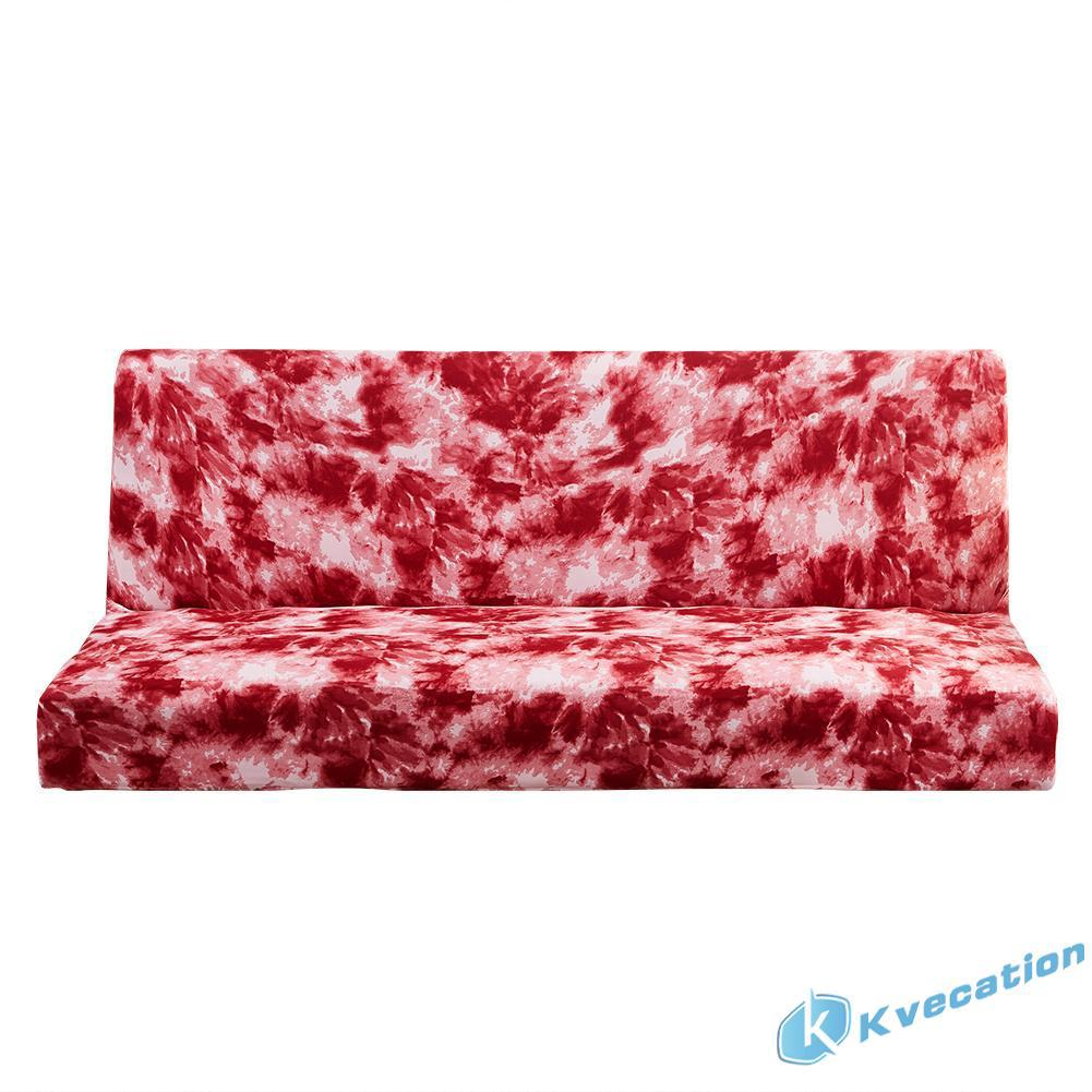 ◇kc◇ Couch Sofa Bed Full Cover Non-slip Slipcover Red