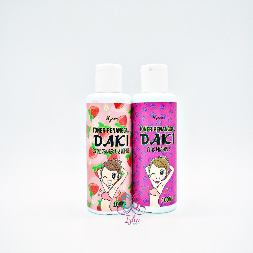 Toner Penanggal Daki (Strawberi + Vitamin E / Vitamin E) - 100ml
