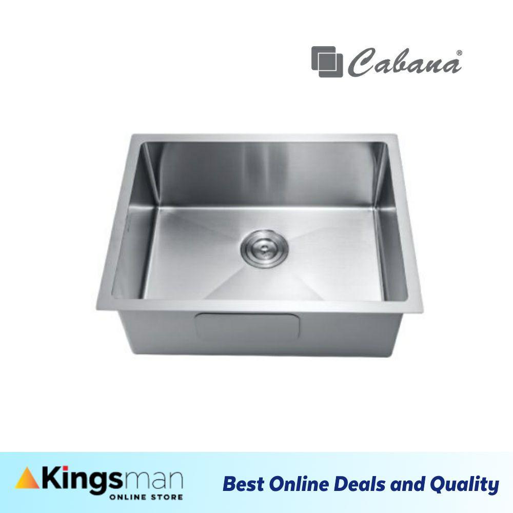 [Kingsman] Cabana Undermount Stainless Steel Home Living Kitchen Sink Single Bowl Ready Stock - CKS7306