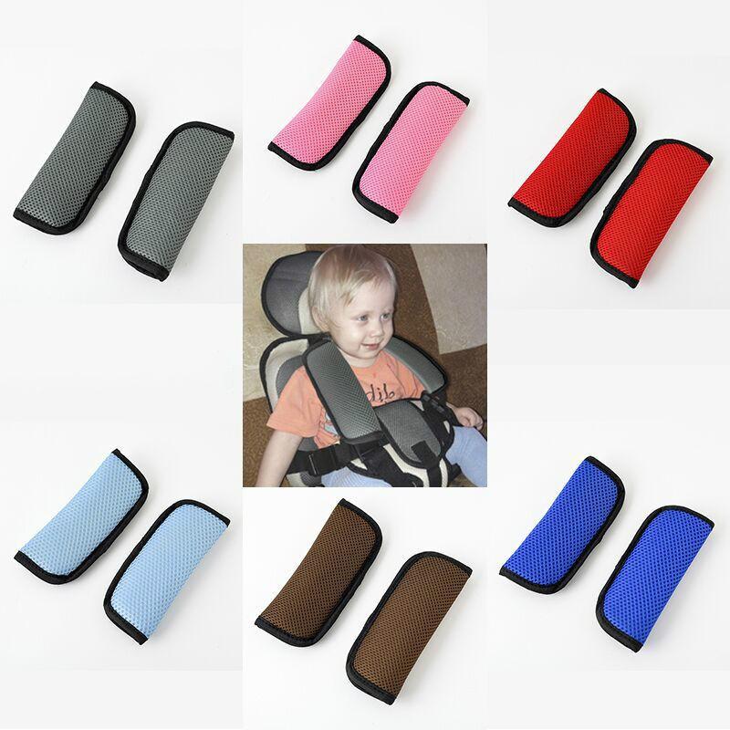 Car Pram Safety Seat Belt Strap Shoulder Cover Harness Pads Kids Baby Head Child