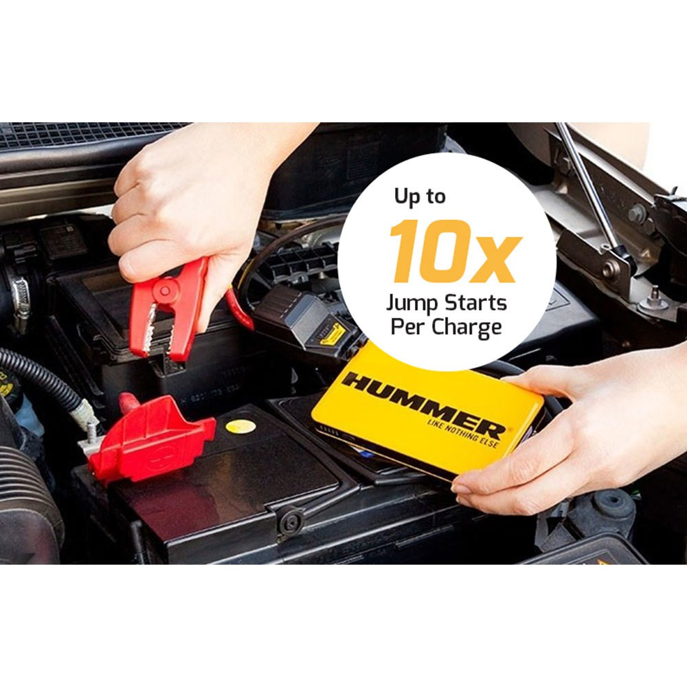 Hummer H3 Power Bank Jump Starter - 12V (6000mAh)