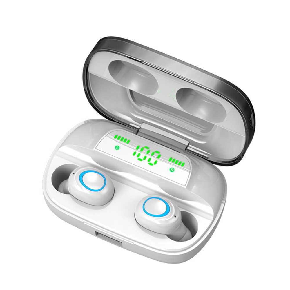 S11 Bluetooth 5.0 TWS Earbuds True Wireless Headphones with Dual Mic In-ear Music Earphones Twins Sports Headset Chargi