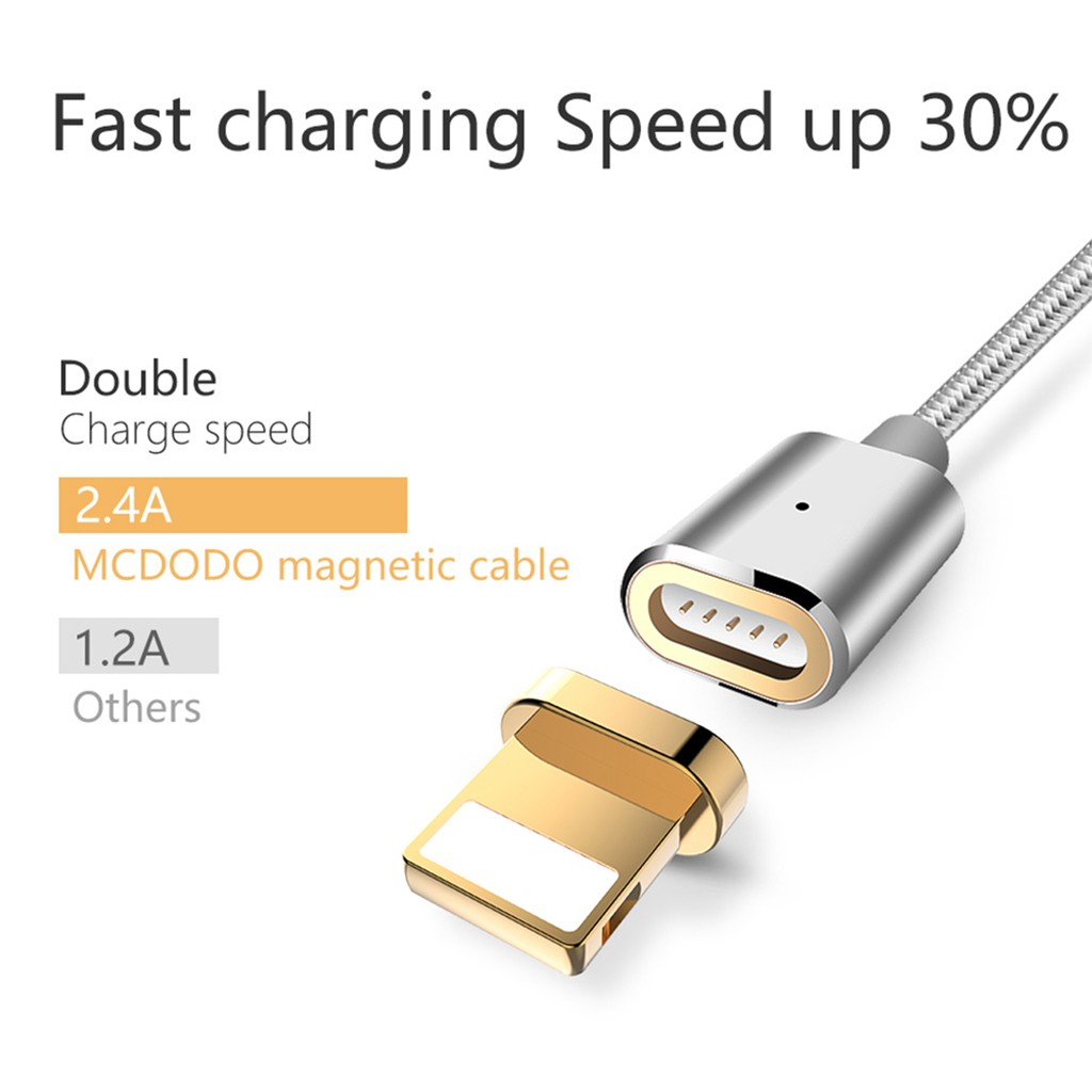 Mcdodo Lightning Auto Disconnect Led Light Fast Charging Data Cable Knight Series Charger Iphone For Shopee Malaysia