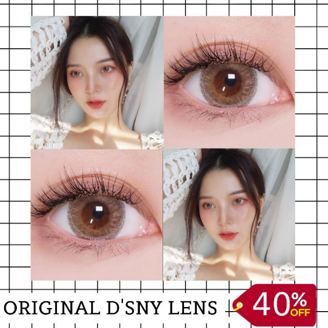 Milan Brown 16mm By Disney Lens Shopee Malaysia